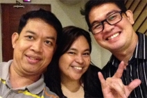 Rey with Cath Genovia and JM