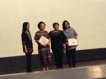 GMEFI Speakers for the Night: Dr. Bernardita Churchill, historian and Myra Medrana
