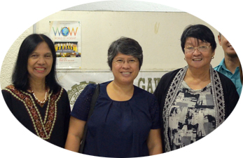 With ex-DSWD Secretary Judy Taguiwalo on the extreme right
